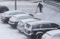 В понедельник в Киеве небольшой снег