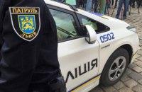 Во Львове задержали пьяного водителя, который намеренно сбил патрульного