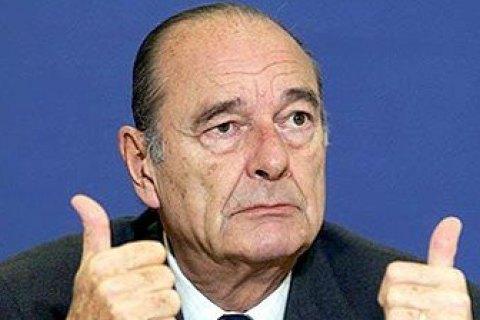 Дружину екс-президента Франції Ширака госпіталізовано слідом за чоловіком