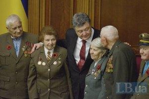 Порошенко анонсировал изменение закона об УПА
