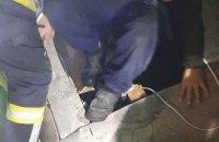У Києві двоє будівельників опинилися під завалами