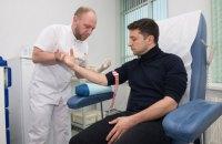 Зеленський виклав у Facebook результати дослідження на наркотики з датою забору крові 2 квітня, а потім поміняв на 5 квітня