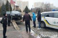 В пригороде Киева избили полицейского, оформлявшего ДТП