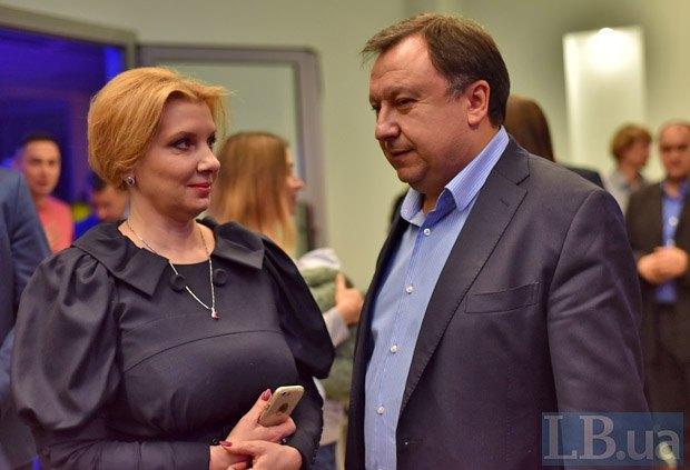Николай Княжицкий и Анна Турчинова
