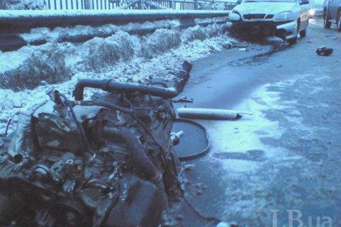 40 человек погибли в ДТП с начала снегопадов в Украине