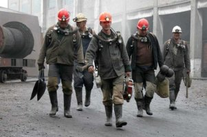Донецкие шахтеры вышли на забастовку