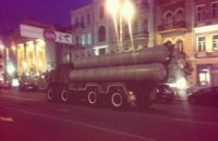 На Майдане началась репетиция военного парада