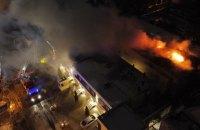 В Одессе сгорел отель, погибли два человека (обновлено)