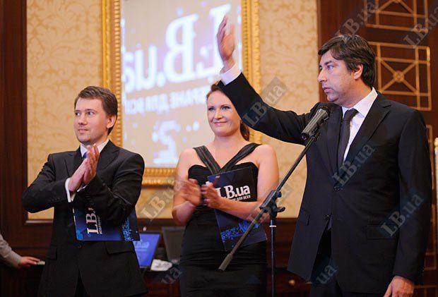 Президент Gorshenin Group Вадим Омельченко, отец-основатель проектов «Левый берег» и Lb.ua (справа)
