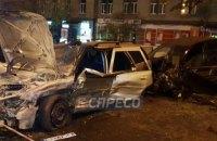 Из-за тройного ДТП возле Шулявского моста один человек погиб, двое пострадали