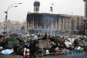 У суботу на Майдані почнуть розбирати барикади