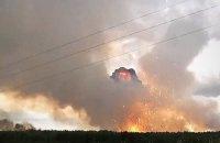 У Сибіру спецпоїзд підірвався під час наїзду на снаряд біля згорілого артилерійського складу