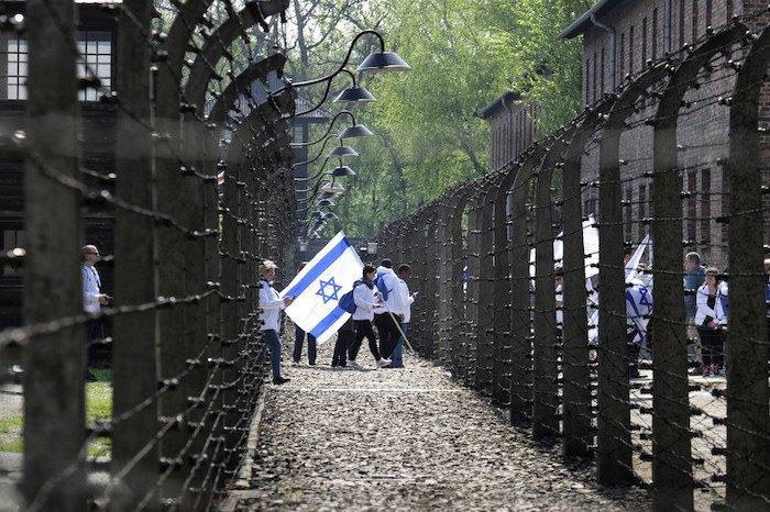 """""""Марш живих"""" в Освенцимі, 2 травня 2018"""