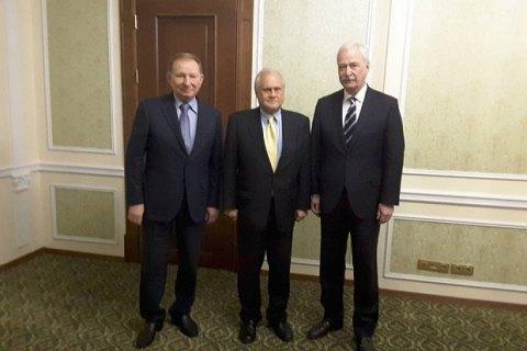 У Мінську почала засідання Контактна група з питань Донбасу