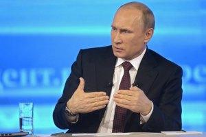 Путін: Росія не приєднуватиме південний схід України