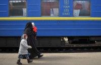 """Поезда в Крым задерживаются из-за проверок местной """"самообороны"""", - """"Укрзализныця"""""""