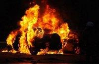 В Киеве подожгли пять автомобилей