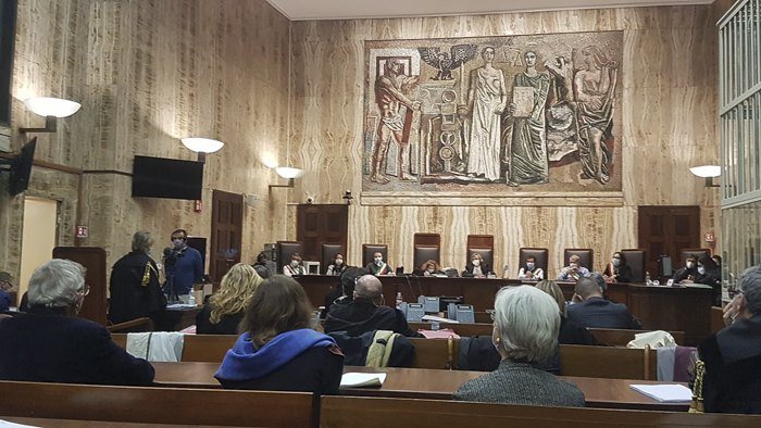 Засідання суду у справі Марківа
