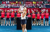 18-летняя украинка Ястремская выиграла теннисный турнир в Гонконге