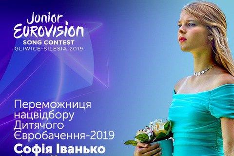 Жюри определило представительницу Украины на детском Евровидении-2019