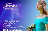 Журі визначило представницю України на дитячому Євробаченні-2019