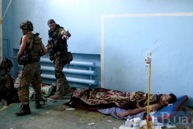 Поранений боєць батальйону <<Донбас>>