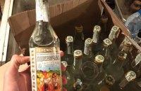 Полиция пресекла масштабное производство фальсифицированной водки