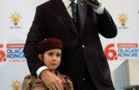 Ердоган наразився на жорстку критику за коментар дитині про честь загинути в бою