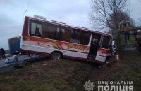 На Волині зіткнулися два автобуси, постраждали вісім осіб