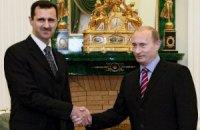 Путін виступив на підтримку режиму Башара Асада в Сирії