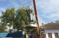 В Одесской области снесли памятники Ленину и Калинину