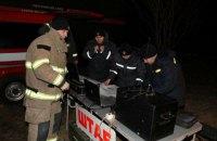 На месте аварии на газопроводе под Лубнами создан оперативный штаб (обновлено)