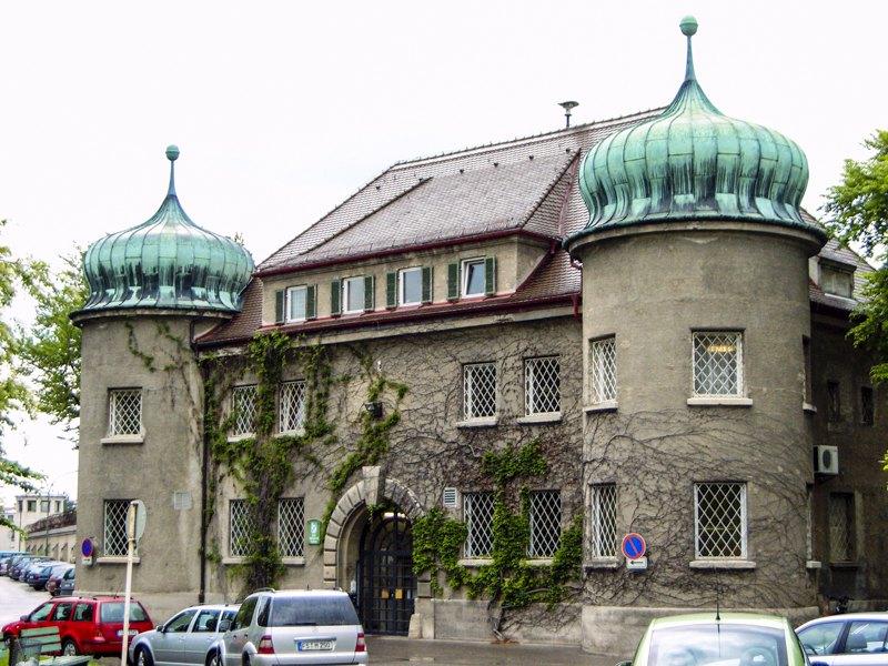 Тюрьма в Ландсберге.