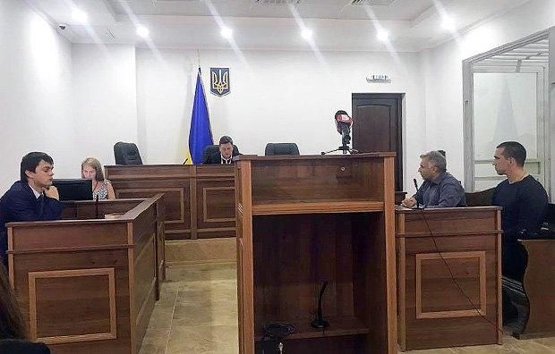 Суд над беркутівцем Марчуком