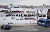Четыре страны ЕС договорились о распределении спасенных в море беженцев