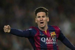 Мессі визнано найкращим футболістом Європи