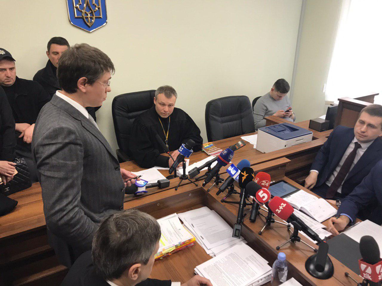 Дмитрий Крючков в суде