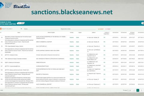 BlackSeaNews створив повну базу даних юридичних осіб, до яких застосовано санкції через агресію РФ проти України