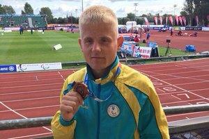 Харківський бігун-паралімпієць отримав бронзу на чемпіонаті Європи