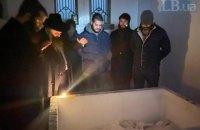 Главный раввин Украины провел на могиле Чернобыльского цадика молитву за Трампа