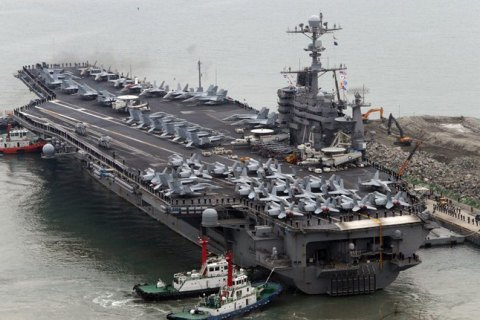 США направили в Персидский залив атомный авианосец