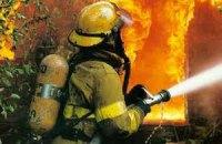В Киеве горел завод