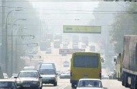 Через спеку шкідливі речовини в київському повітрі в рази перевищили норму