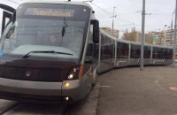 У Києві запустять швидкісний трамвай, який з'єднає правий та лівий берег
