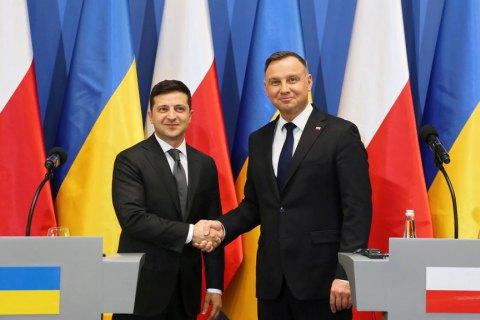 Дуда принял приглашение Зеленского приехать в Украину в октябре