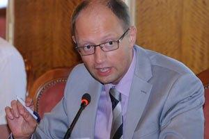 Яценюк предложил власти вместе готовить законопроекты по евроинтеграции