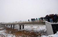 В Івано-Франківській області відновили зруйнований міст через Чечву