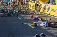 На Турі Польщі велогонщик на швидкості 80 км/год. потрапив у аварію і перебуває в комі