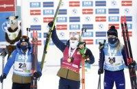 Дві українки - в топ-15 спринтерської гонки чемпіонату світу з біатлону