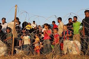 Турецкая полиция применила слезоточивый газ в отношении сирийских беженцев